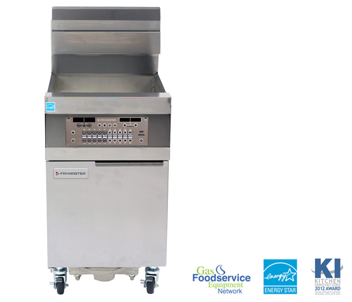 Frymaster - 1814 High-Production, Gas Oil-Conserving Fryers - 3