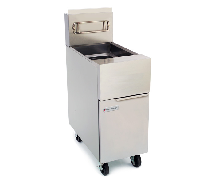 GF40 Gas Fryer shown with optional casters